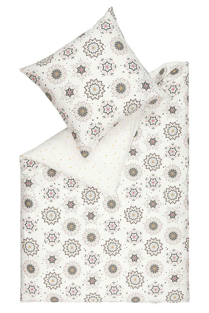 Bettwäsche aus 100% Baumwoll-Satin, MULTICOLOR, detail image number 0