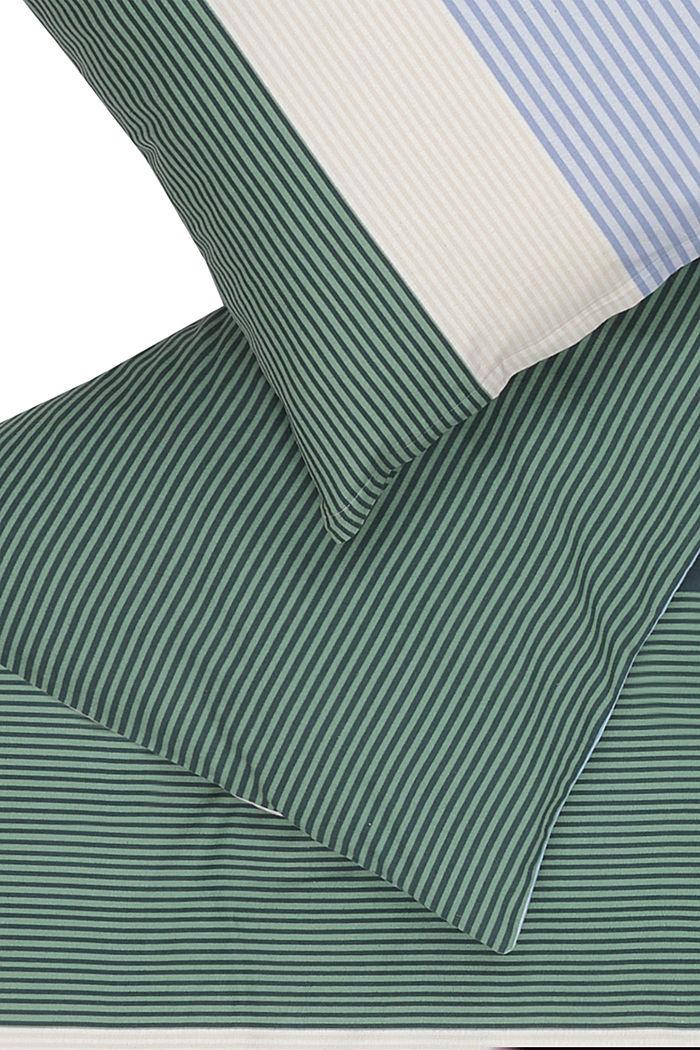 Bettwäsche aus Flanell, 100% Baumwolle, GREEN-BLUE, detail image number 1