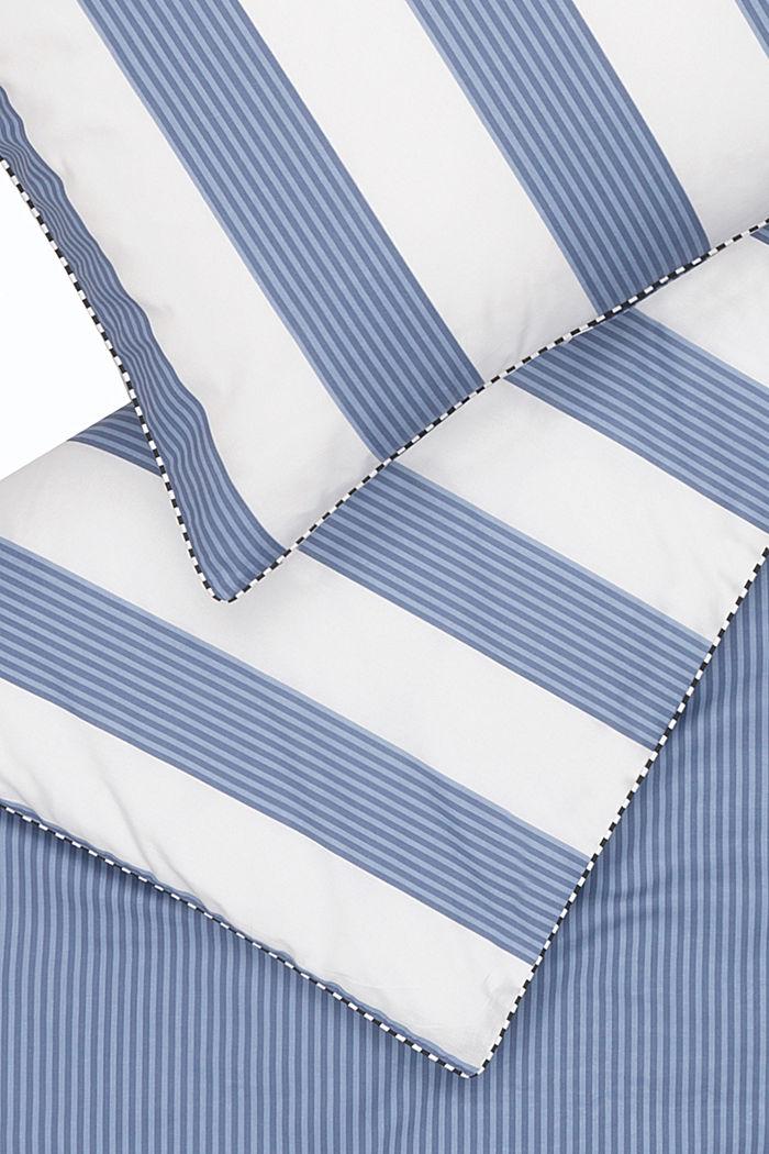 Satin-Bettwäsche, 100% Baumwolle, BLUE, detail image number 3