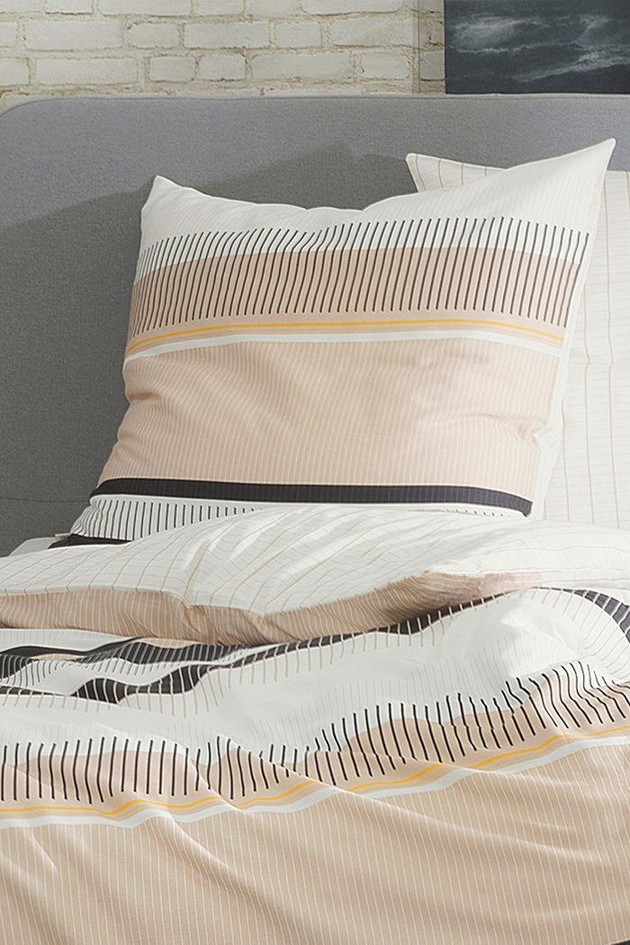Linge de lit en satin, à teneur en coton recyclé