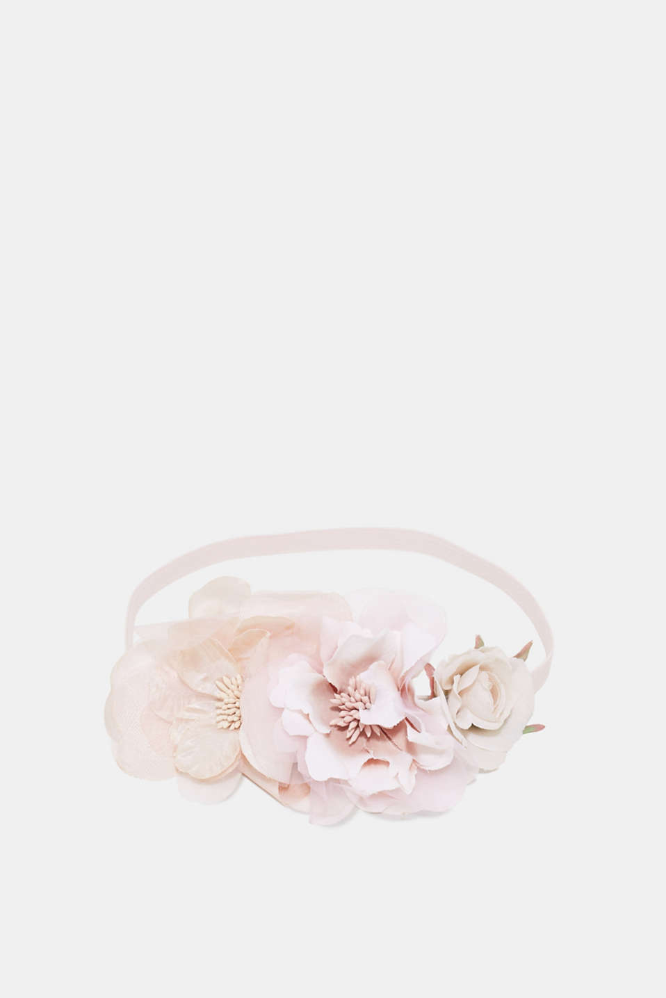 Esprit - Hairband with floral trim