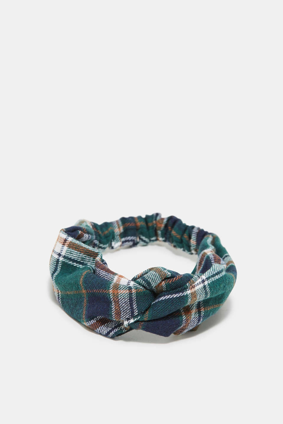 Esprit - Tartan hairband with knot details