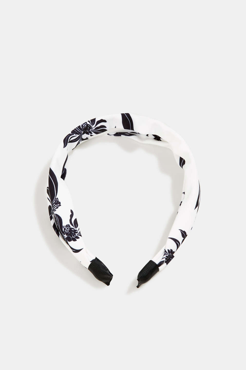 Hairband with floral print, 1COLOR, detail image number 0