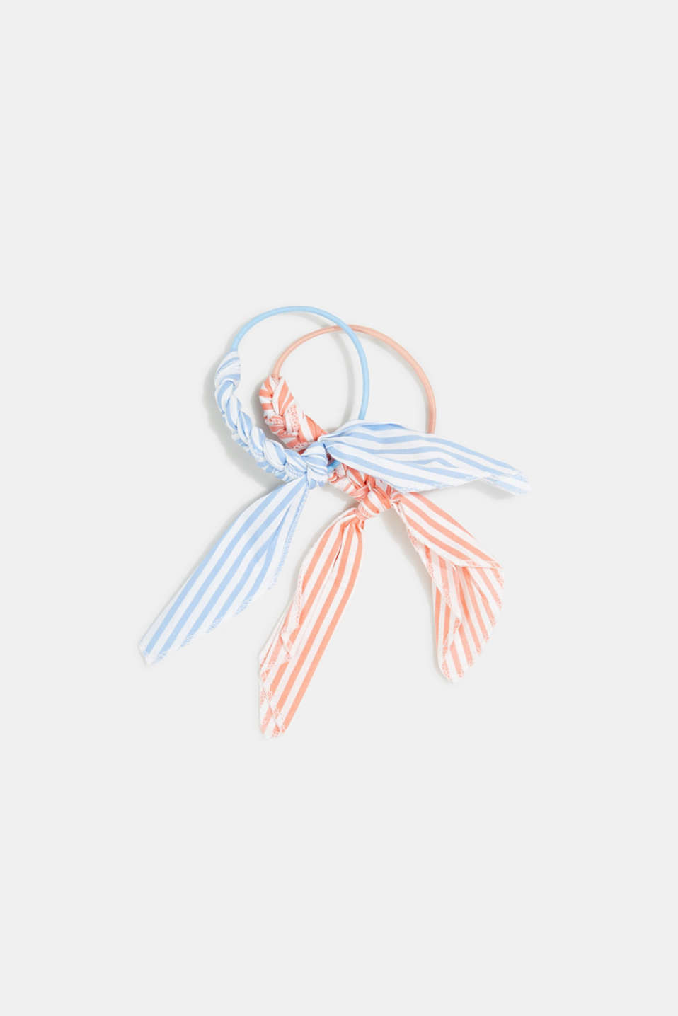 Set of two: hair bands with a bow, 1COLOR, detail image number 0