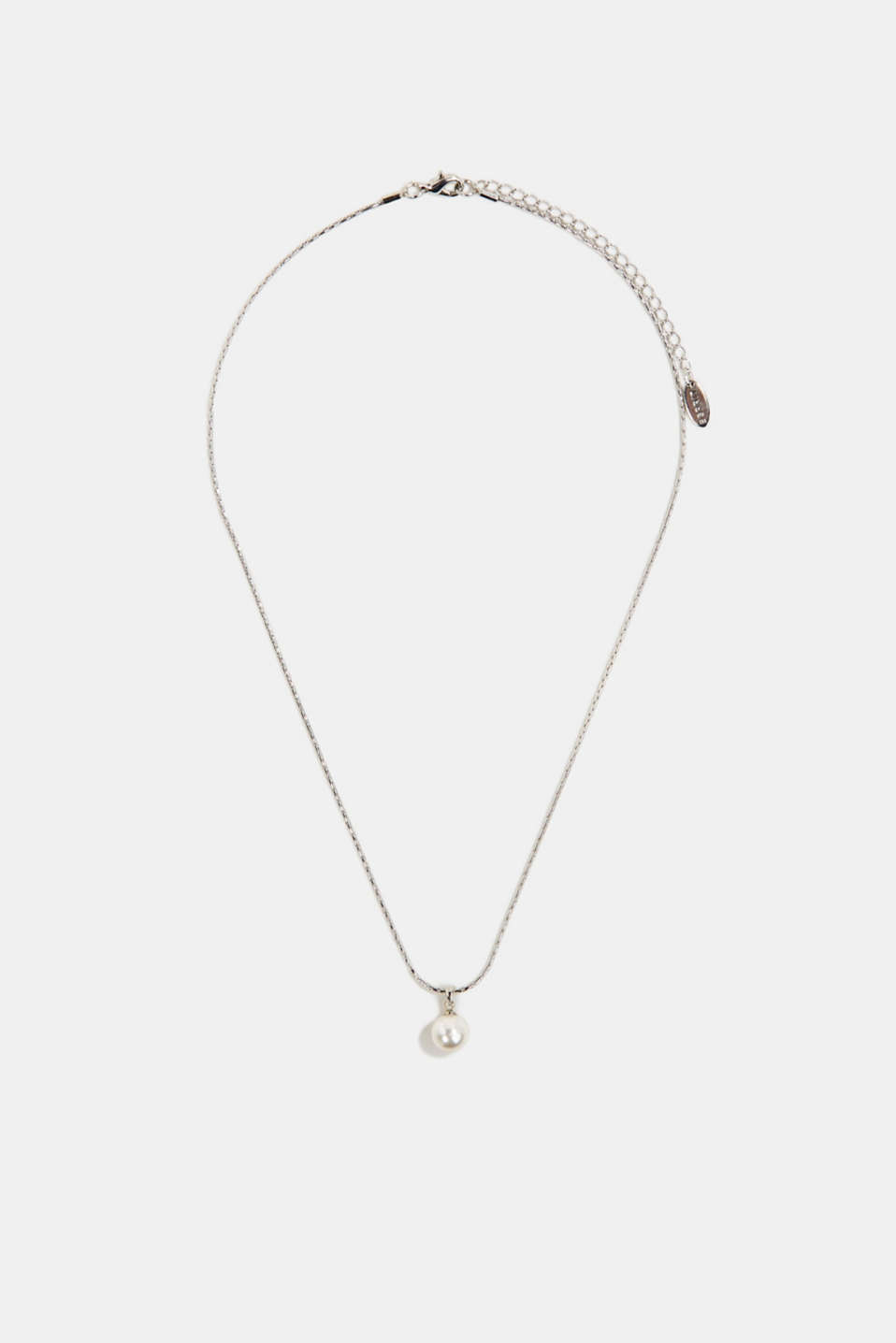 Esprit - Necklace with a faux pearl