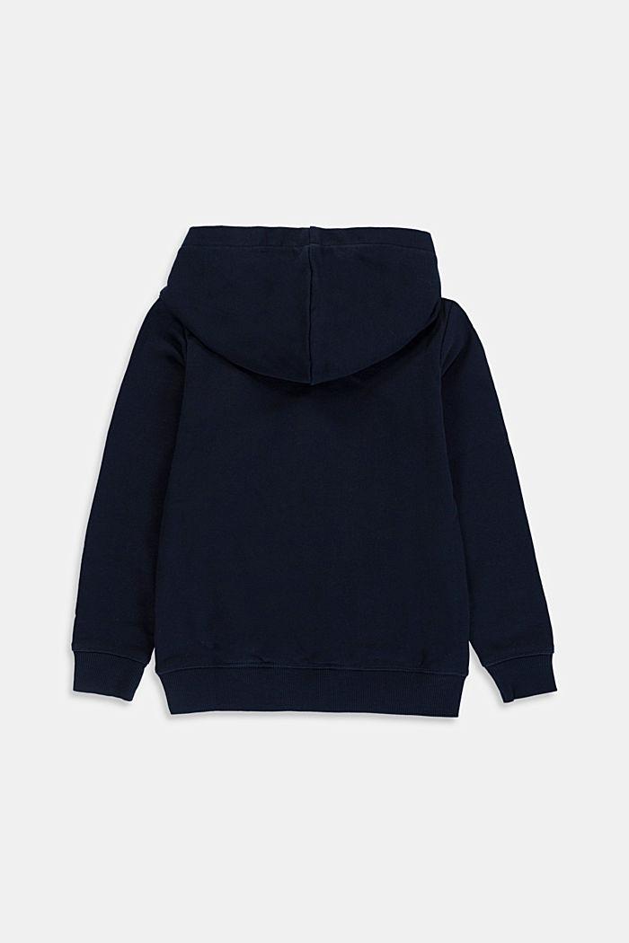 Logo sweatshirt hoodie, 100% cotton