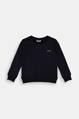 Logo sweatshirt in 100% cotton