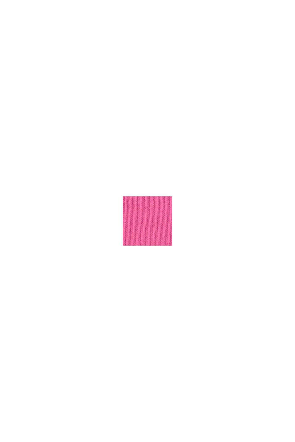 Mikina s logem, ze 100% bavlny, PINK, swatch