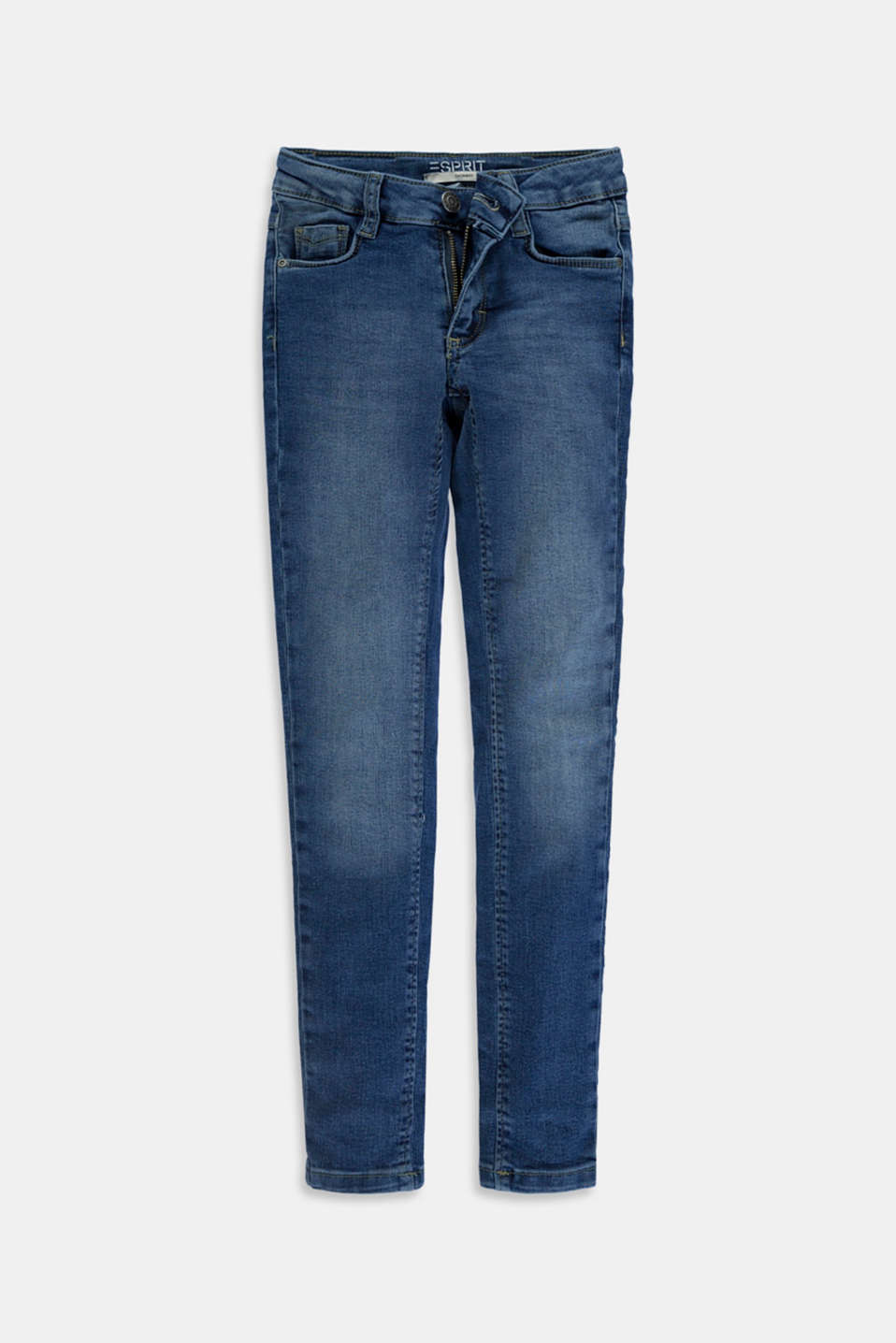 Esprit - Jeans stretch con differenti fit e cintura regolabile