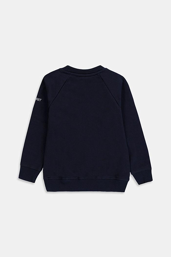 Basic Sweatshirt aus 100% Baumwolle