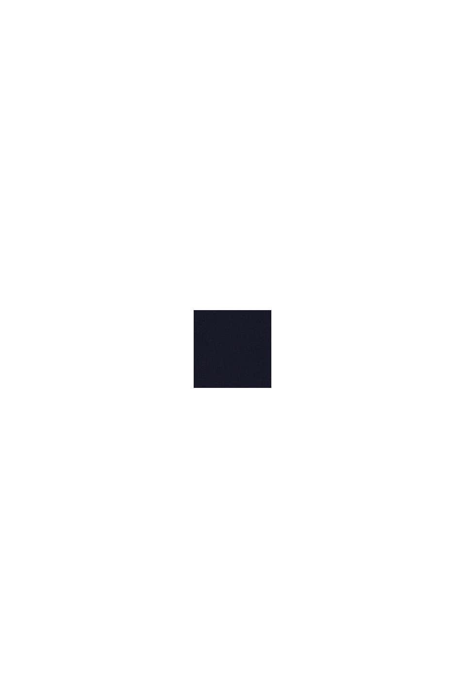 Sweatshirt met logo van 100% katoen, NAVY, swatch