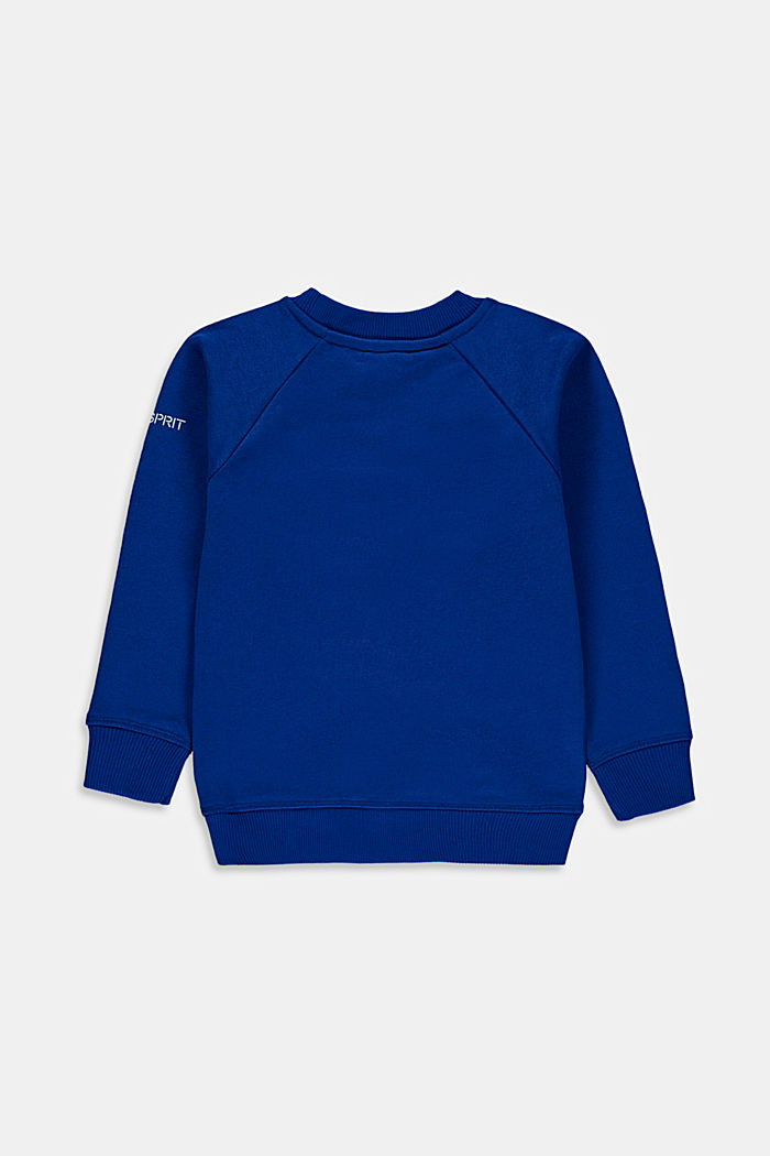 Sweatshirt met logo van 100% katoen