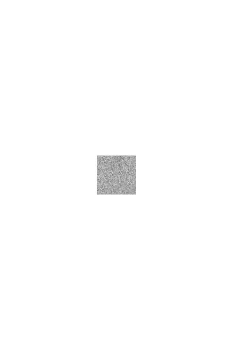 Hoodie met logo, 100% katoen, MEDIUM GREY, swatch