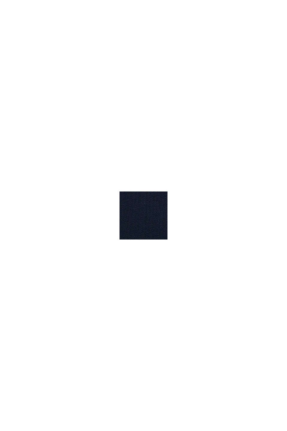 Hoodie met logo, 100% katoen, NAVY, swatch