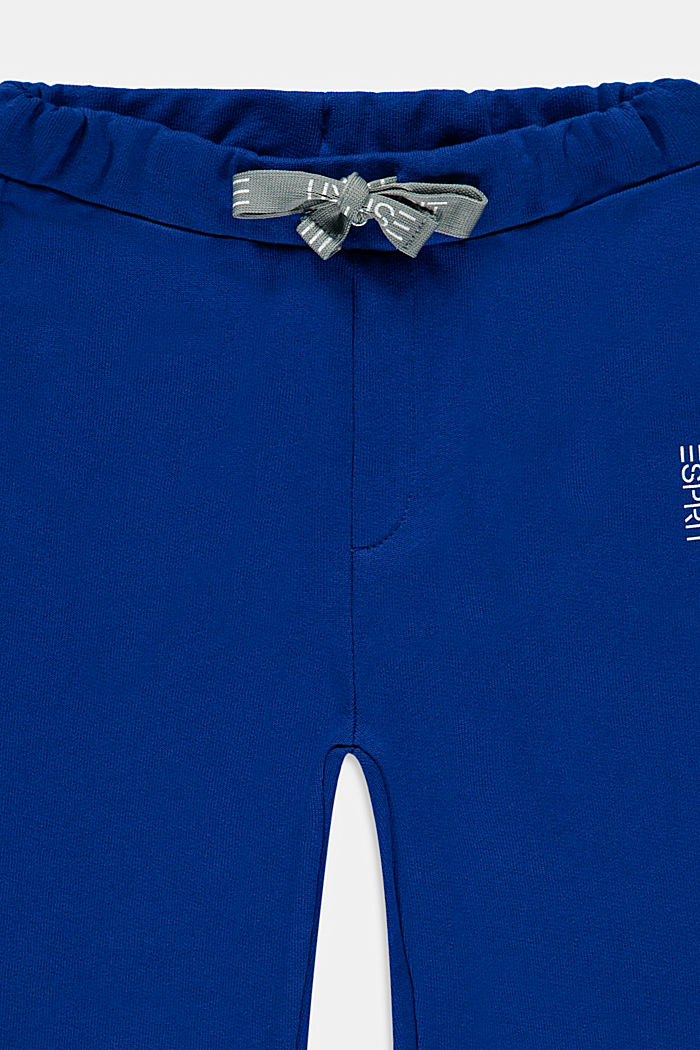 Pantalon molletonné 100 % coton, BRIGHT BLUE, detail image number 2