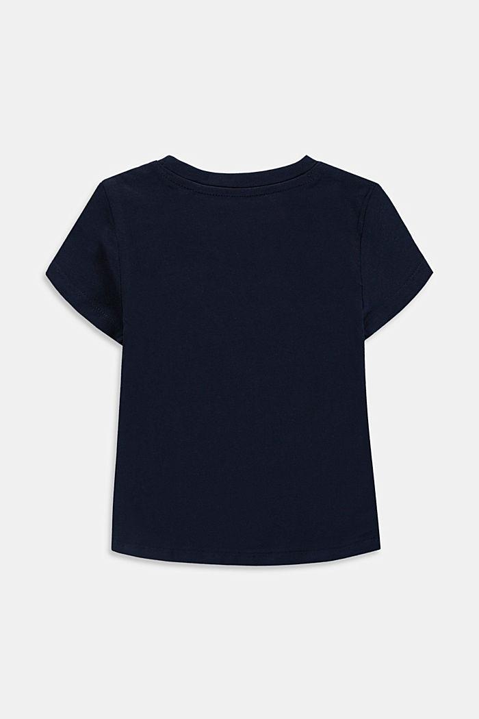 Logo print T-shirt, NAVY, detail image number 1
