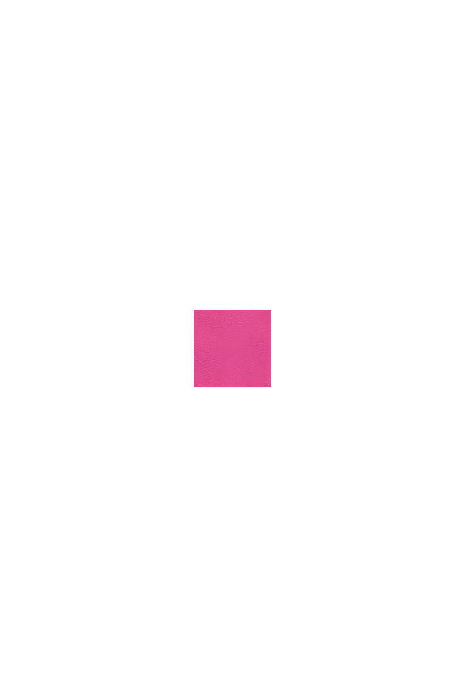 Mikina s logem, 100 % bavlna, PINK, swatch