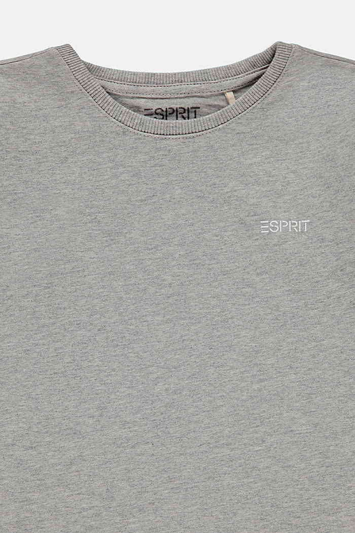 Bluzka z długim rękawem w dwupaku, 100% bawełny, NAVY, detail image number 2