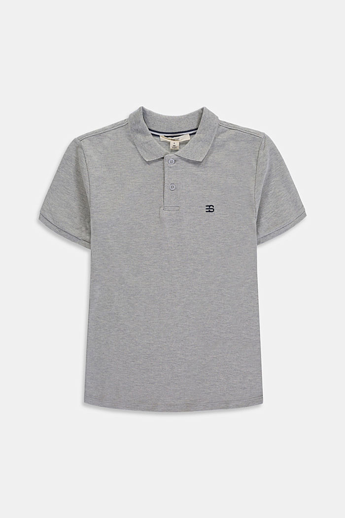 Basic piqué polo shirt made of 100% cotton