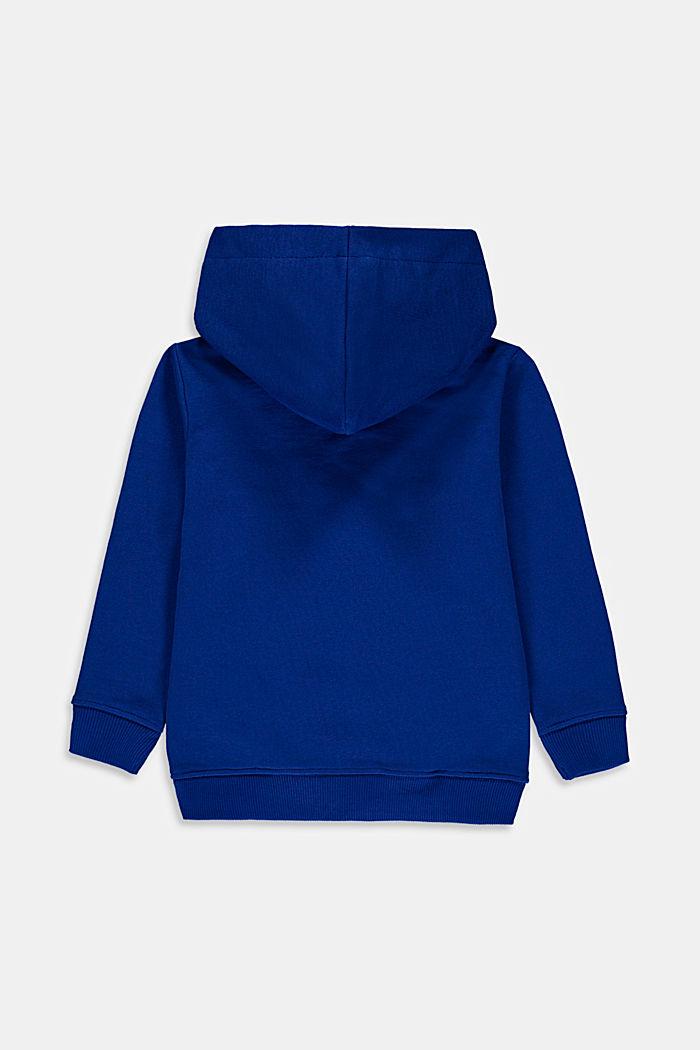 Sudadera con capucha y logotipo en 100% algodón