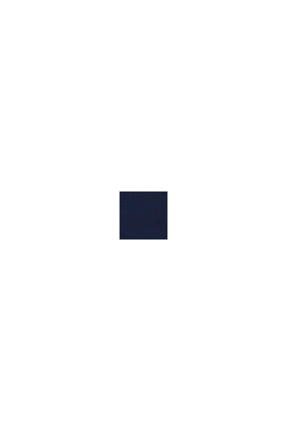 Tepláková bunda ze 100% bio bavlny, DARK BLUE, swatch