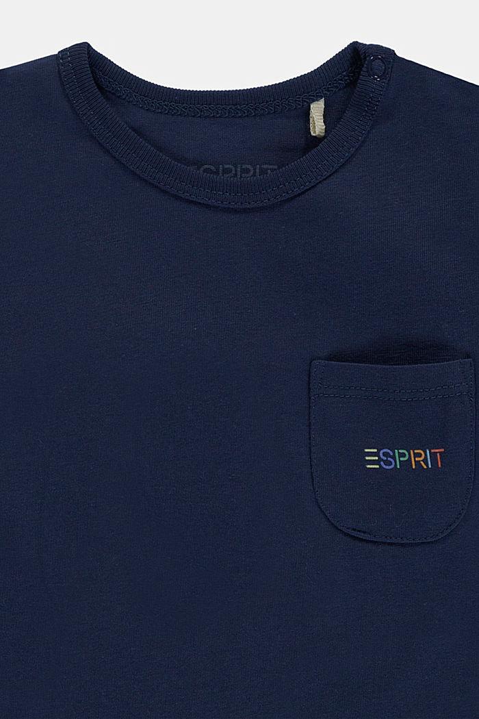 Set: Oberteil und Hose, Bio-Baumwolle, DARK BLUE, detail image number 2