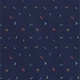 Babydecke aus Organic Cotton, DARK BLUE, swatch