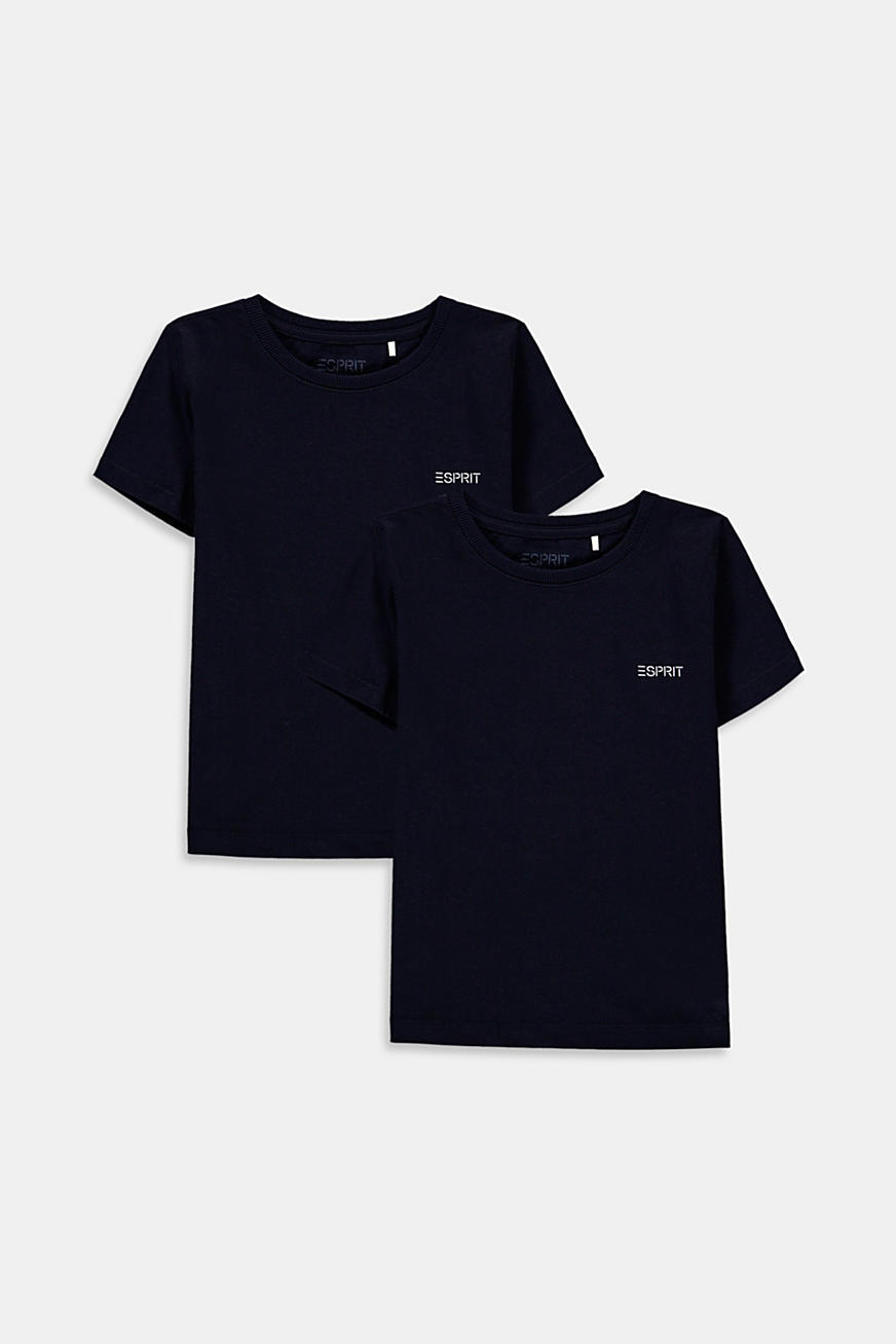Double pack of T-shirts made of 100% cotton