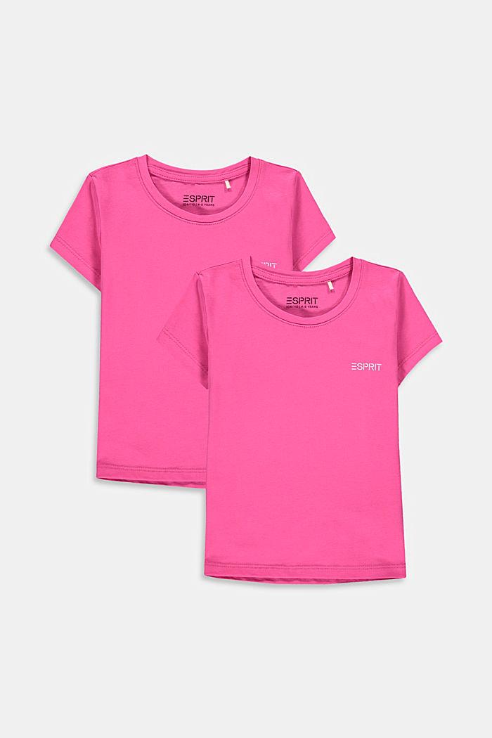 2-er-Pack T-Shirts aus 100% Baumwolle, PINK, detail image number 0
