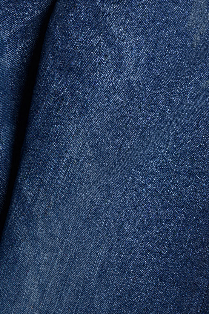 Superstretch-Jeans, Organic Cotton, BLUE DARK WASHED, detail image number 4