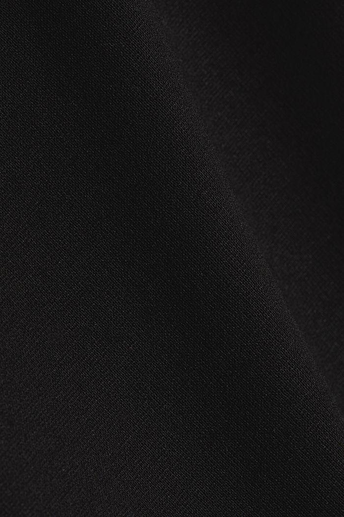 Treggings made of punto jersey, BLACK, detail image number 4