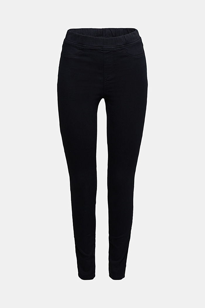 Treggings with an elasticated waistband