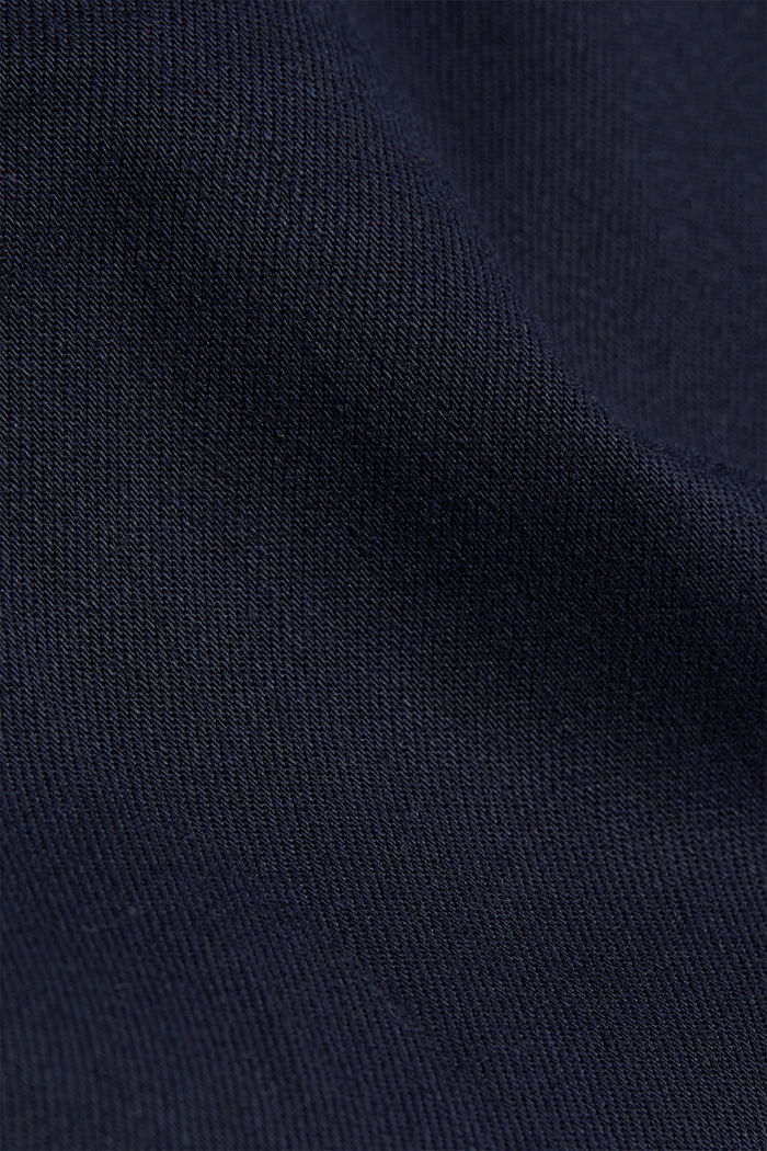 Treggings with an elasticated waistband, NAVY, detail image number 4
