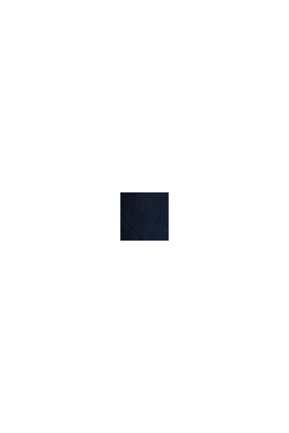 Jean 2 boutons à teneur en coton bio, BLUE BLACK, swatch