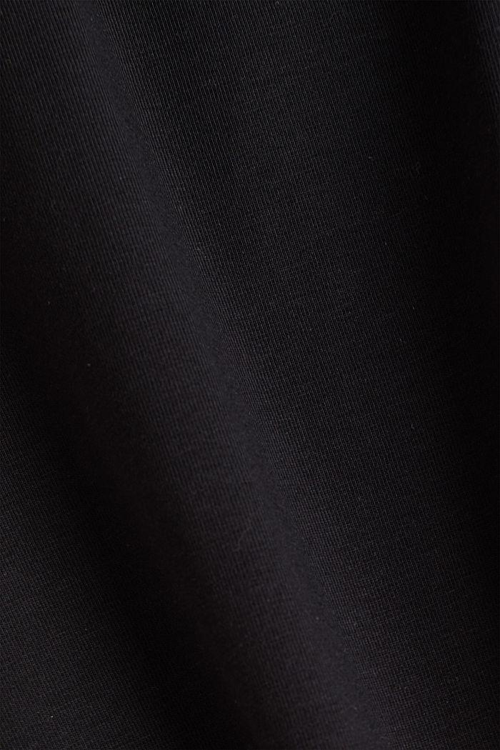 Legging met biologisch katoen, BLACK, detail image number 4