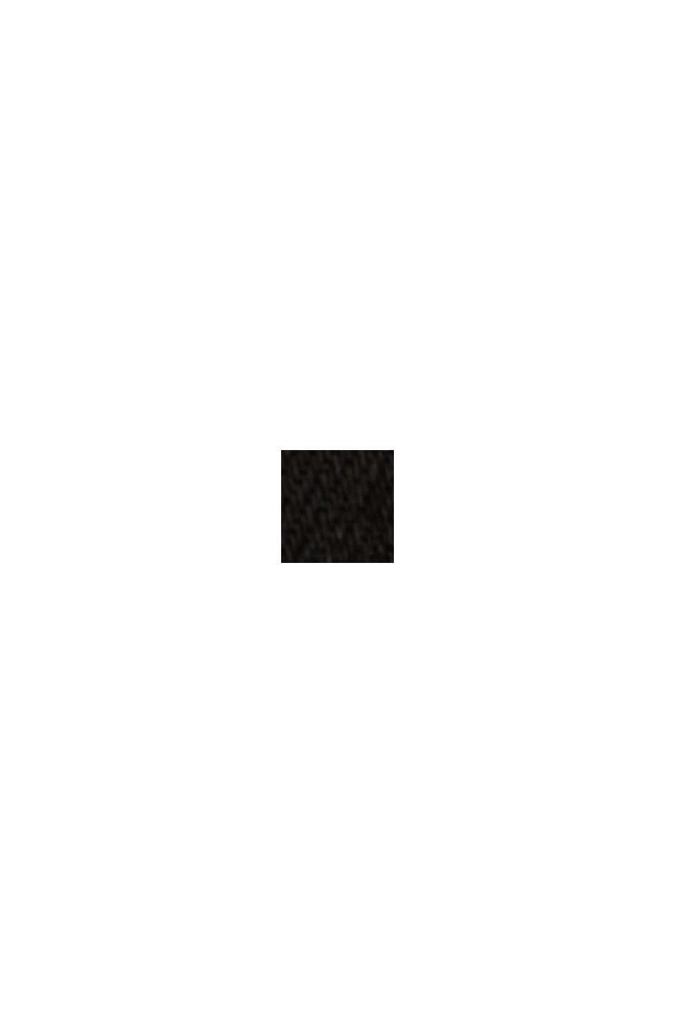 Stretchjeans met biologisch katoen, BLACK RINSE, swatch
