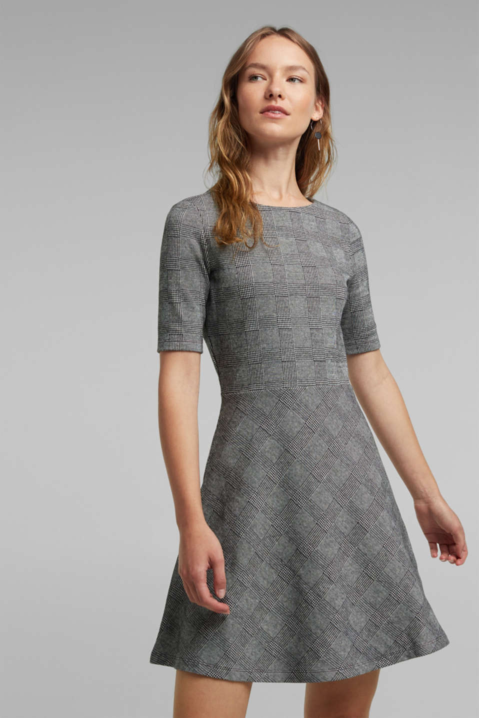 edc - Jersey dress with stretch for comfort