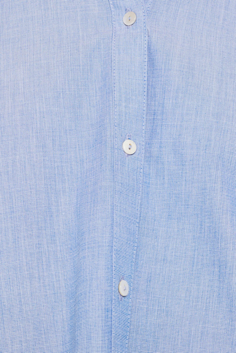 Shirt blouse made of chambray fabric, 100% cotton, LIGHT BLUE, detail image number 4