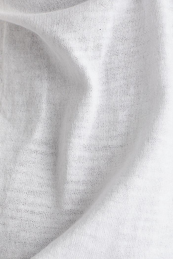 Cardigan, 100% cotton, WHITE, detail image number 4