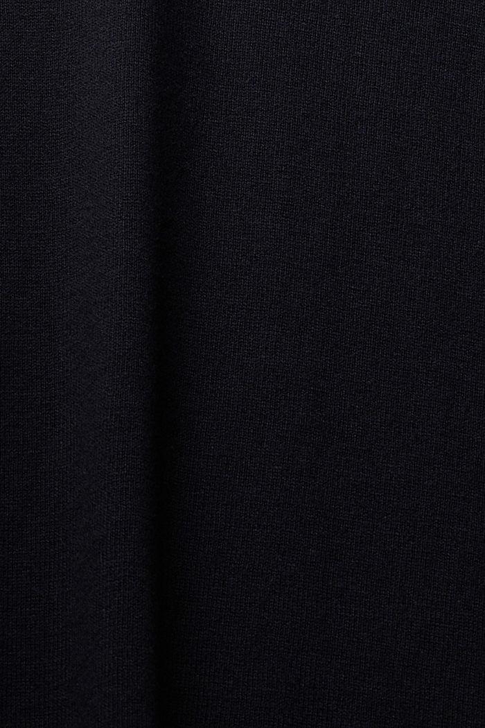 Pullover mit Organic Cotton, BLACK, detail image number 4