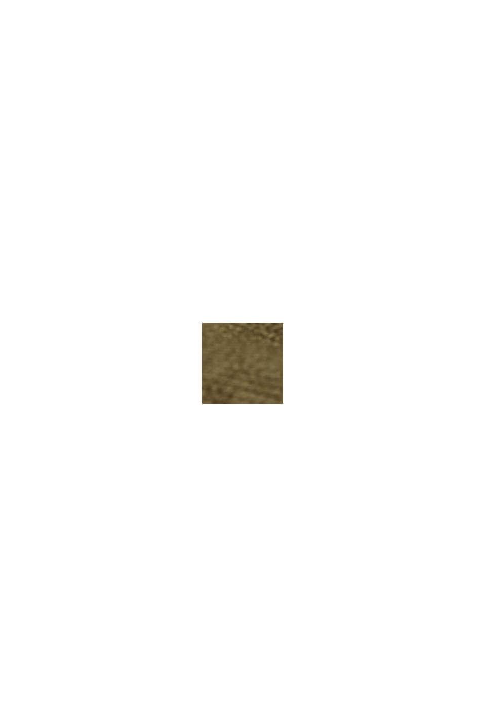 Basic V-Neck-Cardigan mit Bio-Baumwolle, KHAKI GREEN, swatch