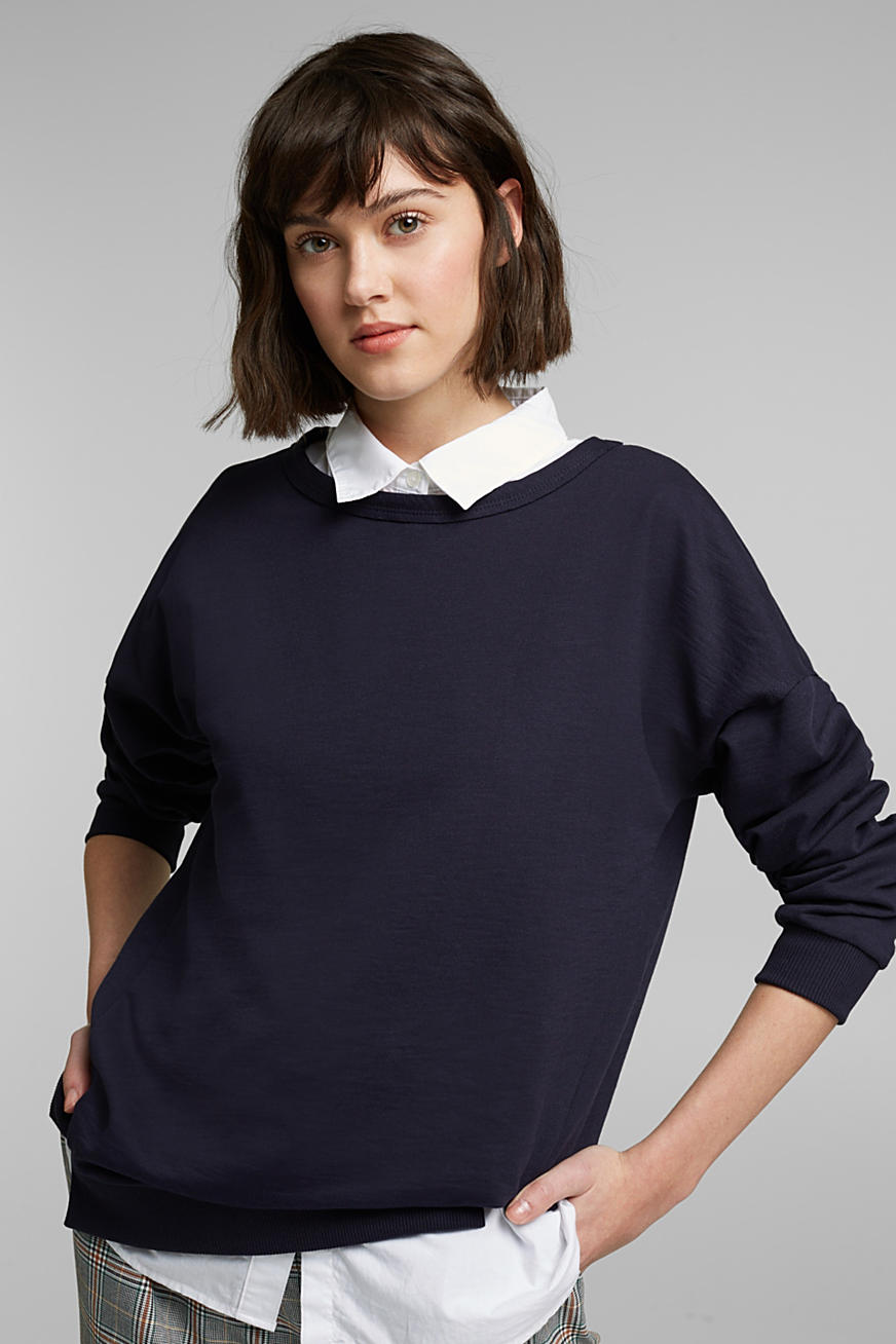 Sweatshirt mit Organic Cotton