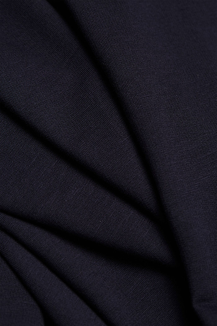 Sweatshirt met organic cotton, NAVY, detail image number 4