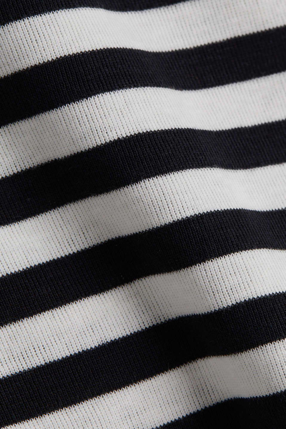 Ribbed T-shirt, 100% cotton, BLACK, detail image number 4
