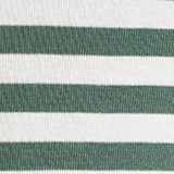 Striped ribbed T-shirt, 100% cotton, KHAKI GREEN, swatch