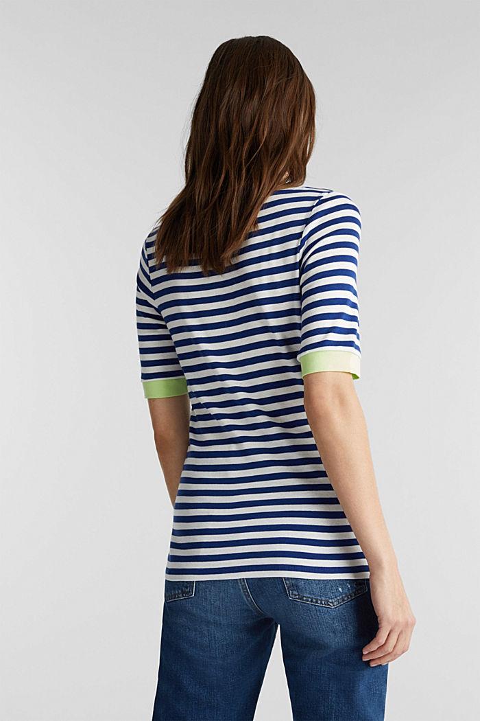 Ripp-T-Shirt, 100% Baumwolle, INK, detail image number 3