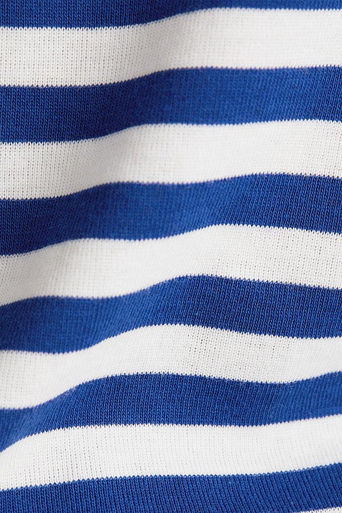 Ripp-T-Shirt, 100% Baumwolle, INK, detail image number 4