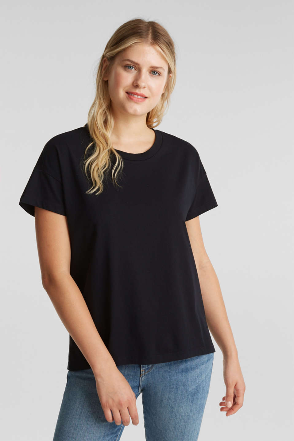 edc - T-shirt basic in 100% cotone