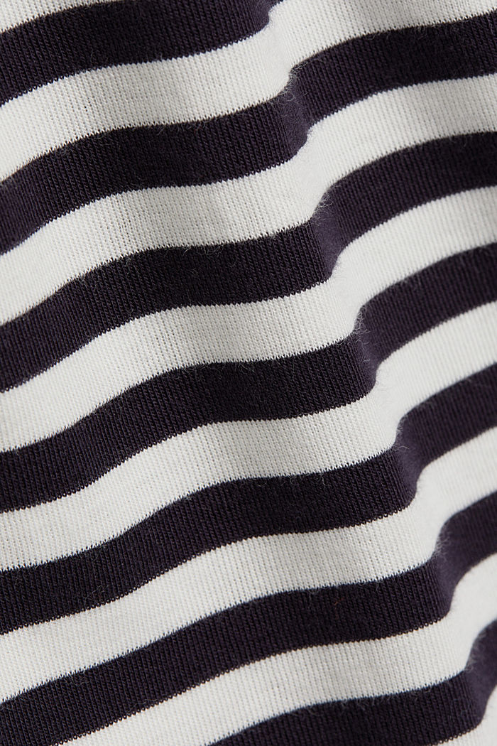 Long sleeve top made of 100% organic cotton, NAVY, detail image number 4
