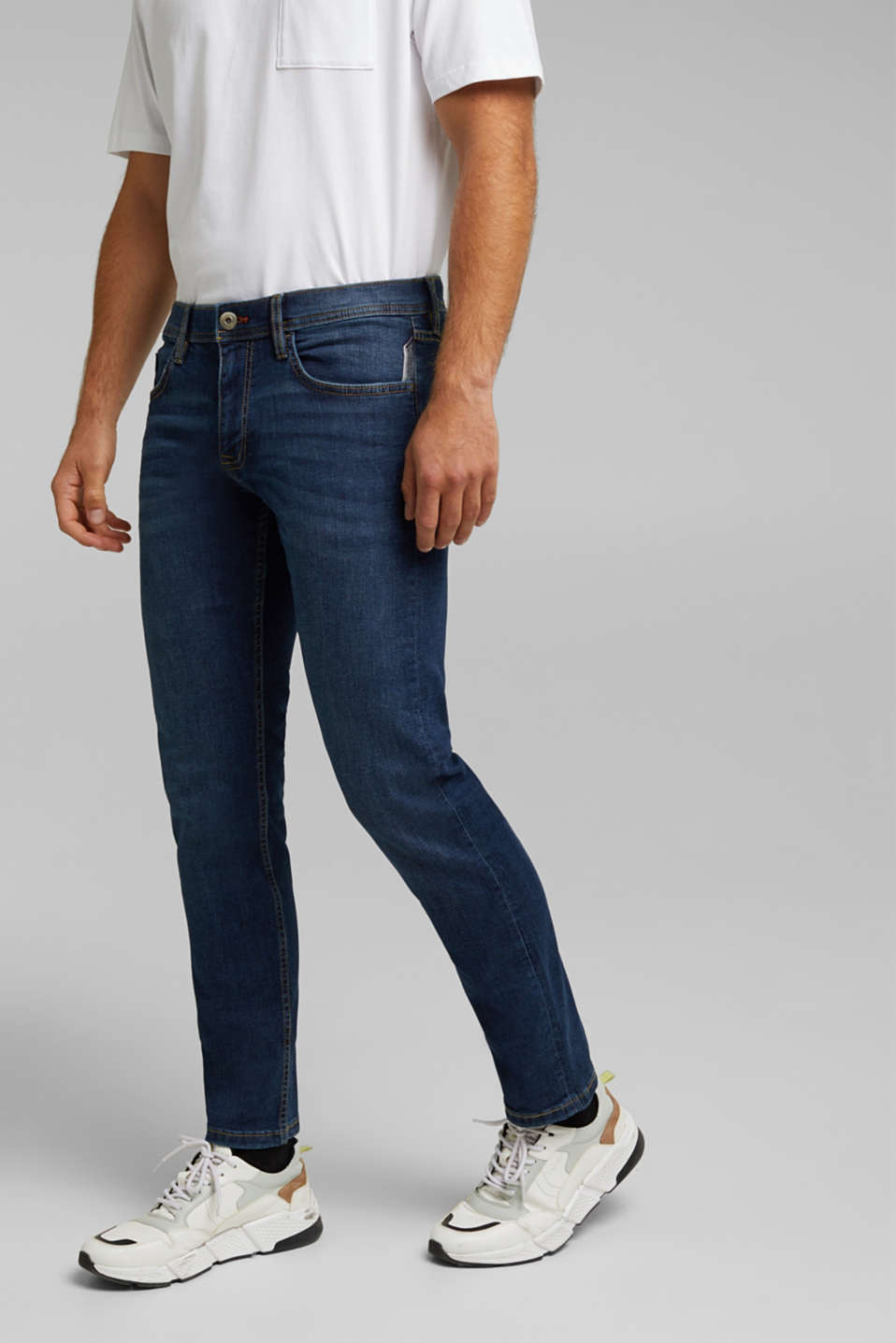 edc - Basic-Jeans mit Organic Cotton